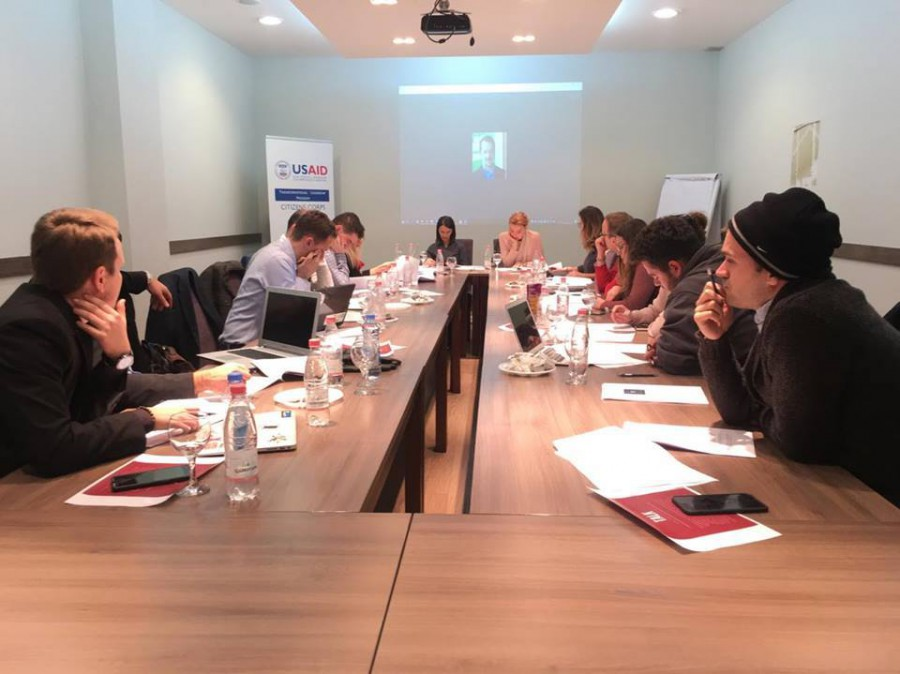 TLP Alumni Association board meeting