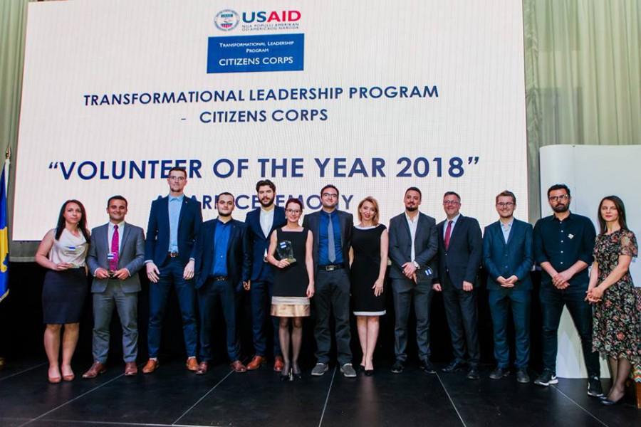 Volunteer of the Year 2018 - Winners