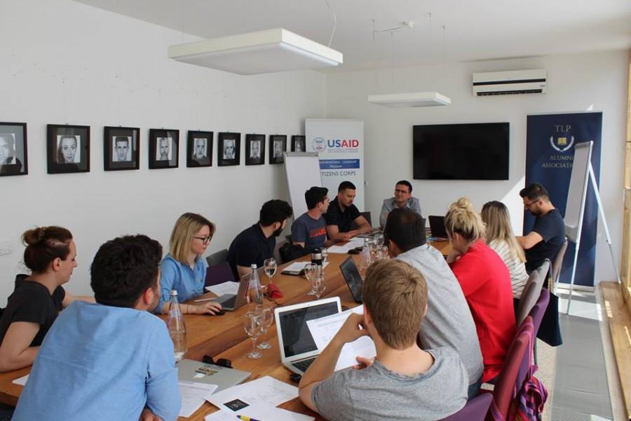 TLP Alumni Association first Annual workplan Workshop