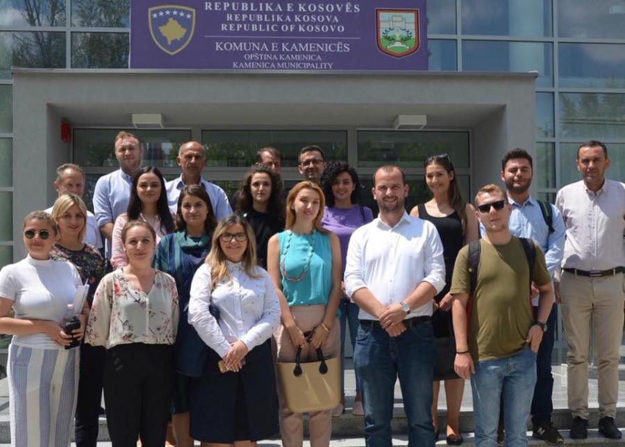 TLP - CC / Alumni and team met with mayor of Kamenica