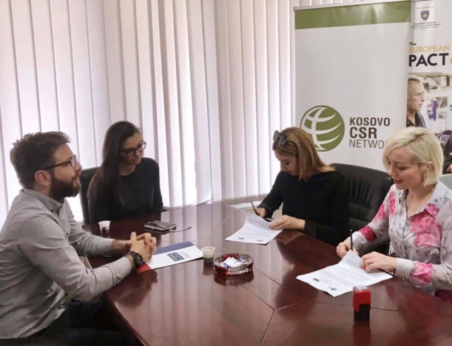 TLP AA cooperation with Kosovo CSR Network