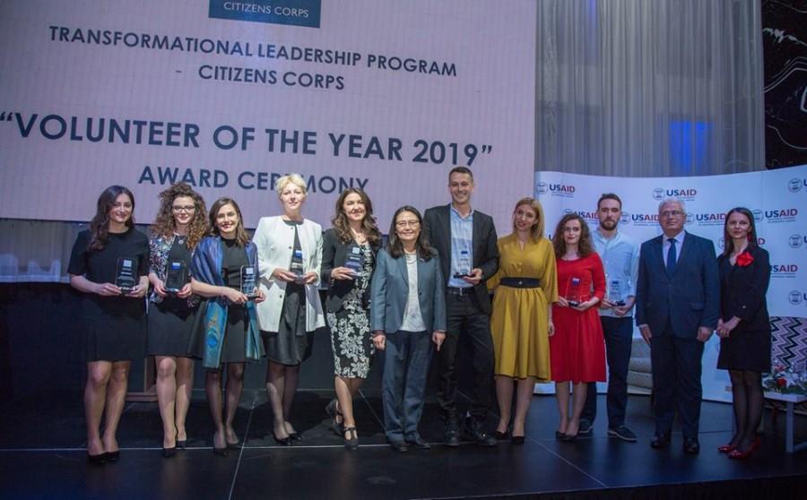 Volunteer of the year 2019 award