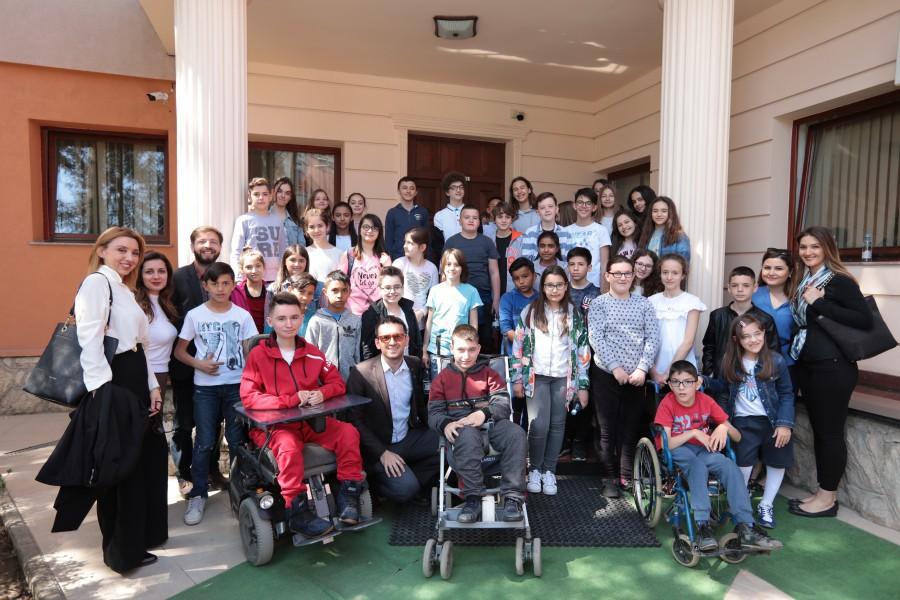 Constitution Week -Children visit at Constitutional Court