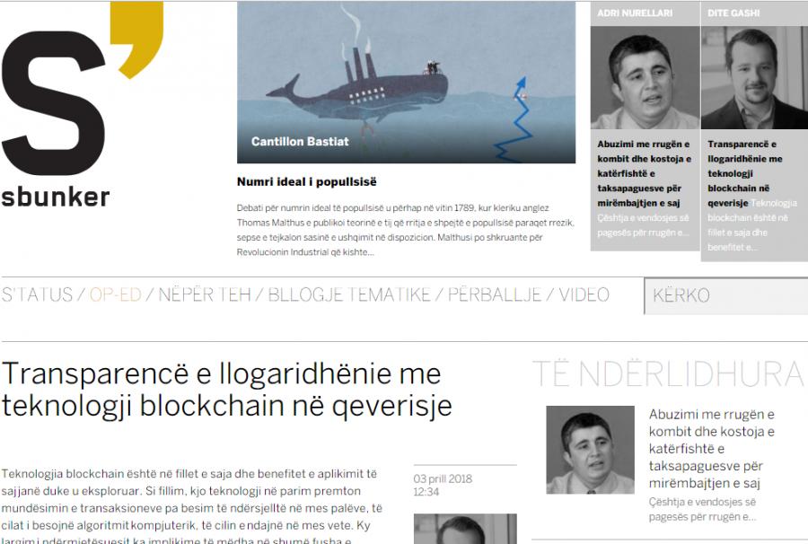 """Dite Gashi - """"Transparencë e llogaridhënie me teknologji blockchain në qeverisje"""""""